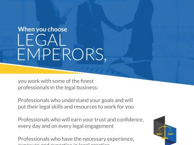 WHY YOU NEED LEGAL EMPERORS