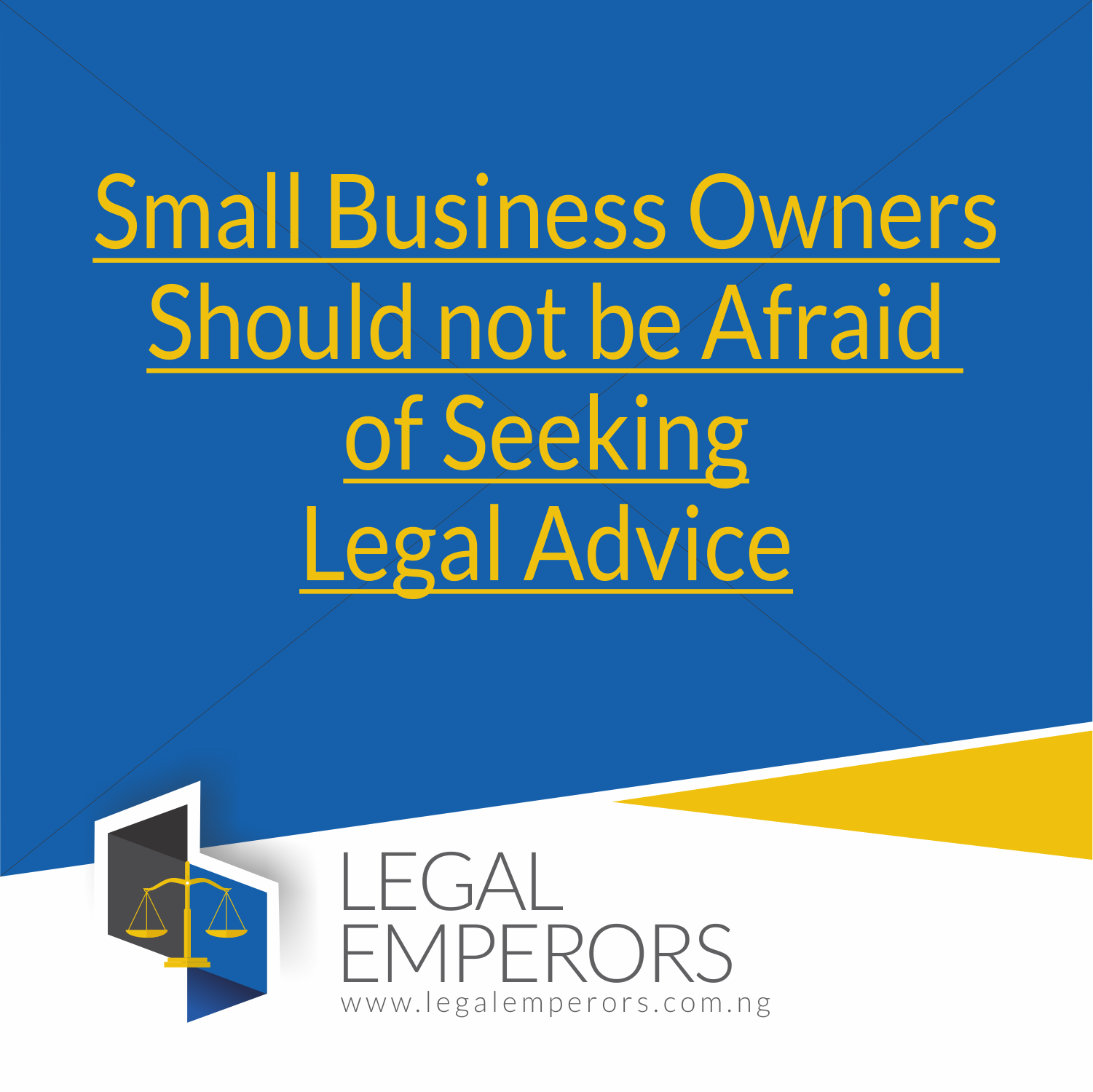 Small Business Owner and Legal Advice